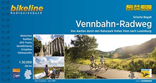 Vennbahn-Radweg: Von Aachen durch den Naturpark Hohes Venn nach Luxemburg, 1:50.000, 230 km (Bikeline Radtourenbücher)