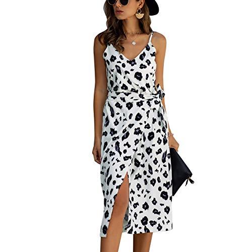 E-girl E600234 - Vestido sin mangas para mujer 600234-blanco 42