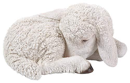 Vivid Arts D Sleeping Lamm Größe D, Weiß