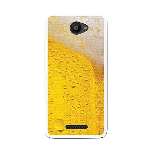 Tum&osmartphone Hülle Gel- TPU Hülle Für bq aquaris u/U Lite Design Muster - Bier