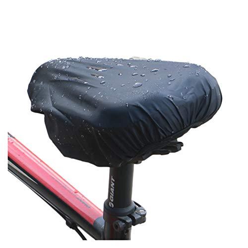 Funda Sillin Bicicleta Gel 4 PCS Asiento de bicicleta Tapa de lluvia impermeable y resistente al polvo Cubierta de silla de montar de la bicicleta Tapa de la almohadilla de asiento reutilizable Acceso