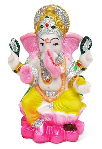 Purity Ganesha-Statue, Ganesha, aus Harz, Hindu-Gott