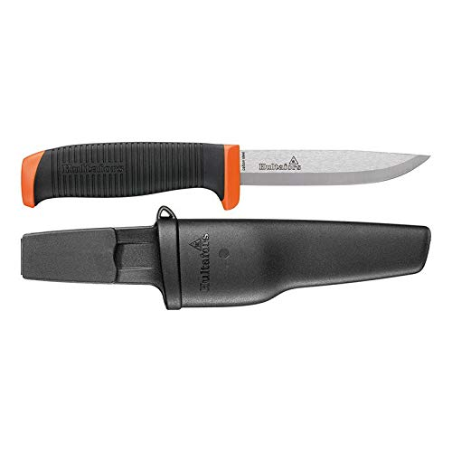 Hultafors Handwerkermesser HVK-GH, 380210, Allzweckmesser mit Rutschfestem Gummigriff und Karbonstahlklinge