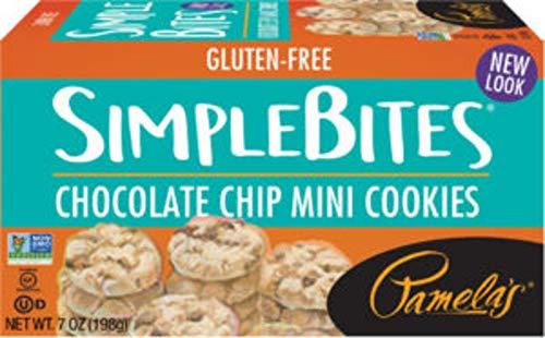 Pamela's Chocolate Chip Simple Bites Gluten Free ( 6x7 OZ)