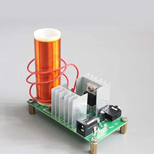 Okuyonic DC 15‑24V Juego de Tablero de Alta presión Proyecto de Bricolaje Mini Kit de Bobina Kit de transmisión de Arco para Tubos estroboscópicos para transmisión de energía inalámbrica