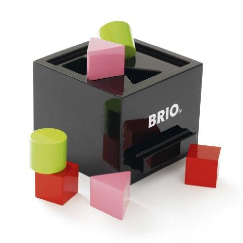 Brio - Jouet Premier Age en bois - Boîte à formes - Bois laqué