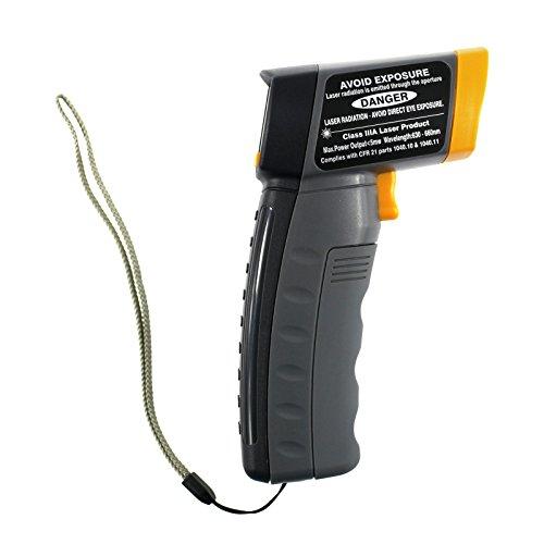 ALLOSUN Non-contact Digital Laser IR Infrared Thermometer Temperature Gun