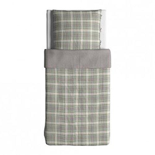 IKEA Snärjmara Bettwäscheset 2-teilig Bezug 155 x 220 cm Kopfkissen 80 x 80 cm