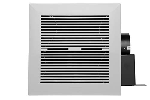 Hauslane BF100 Electric Bathroom Fan - 120 CFM Ultra Quiet Exhaust, Perfect to Improve Airflow & Air Circulation – Suitable for 120 sqft Room