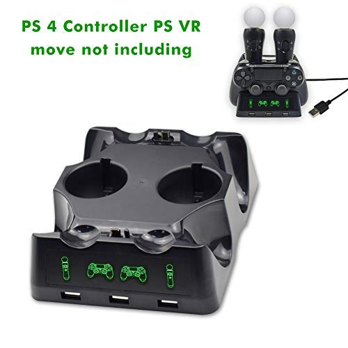 PS 4   PS VR Docking Station, Dual Docking Station PlayStation 4   PS 4   PS VR Move Controller for Sony PlayStation4   PS4 Pro   PS VR   PS4 VR