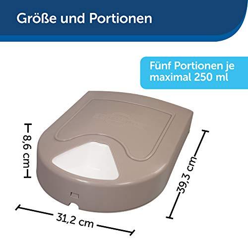 PetSafe Futterreservoir für 5 Mahlzeiten mit Zeitschaltuhr - 6