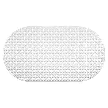 Richards Homewares Water Drop Bath Tub and Shower Mat 27 x 14.75-Inch White