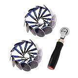 Parche de neumáticos Kits de reparación de neumáticos Plug Parche de reparación de neumáticos y Stitcher, para la Bici Bicicleta de la Motocicleta Vespa Adecuado para Todo Tipo de Cubiertas de Caucho