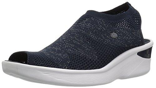 Price comparison product image BZees Women's Secret Sandal,  Navy Knit,  9 M US