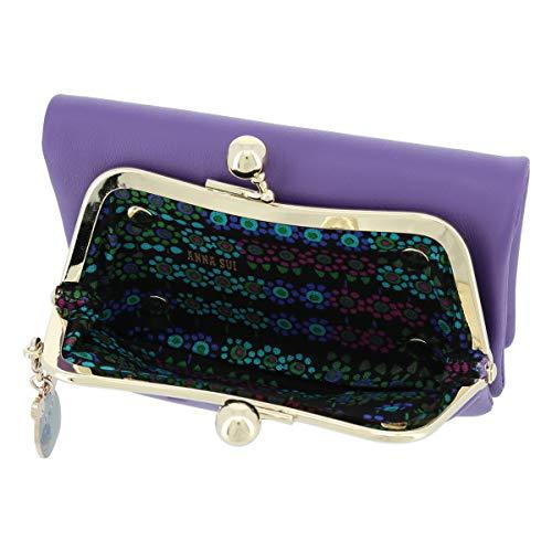 [アナスイ]二つ折り財布がま口TITI&PIPIレディースANA-315111【90】パープル