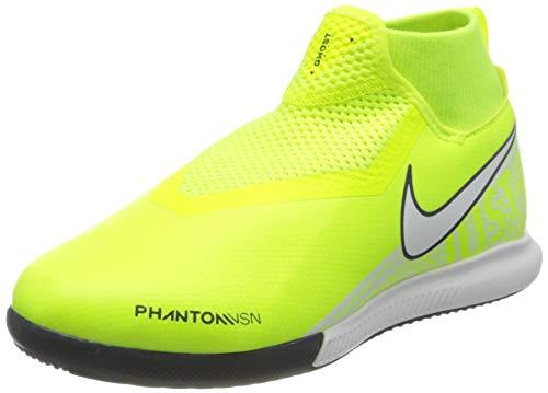 Nike Kinder Phantom Vsn Academy Fußballschuh, Volt/White-Volt, 33 EU