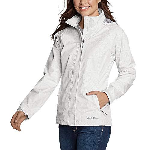 Eddie Bauer Women's Rainfoil Packable Jacket, Cloud Regular XXL