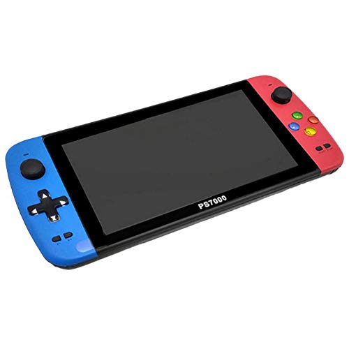 Consola de juegos portátil con pantalla de 7 pulgadas, 3000 juegos gratis, videojuegos portátiles con tarjeta TF de 16G, jugador clásico de juegos retro Arcade Game Boy, regalos de cumpleaños para niñ