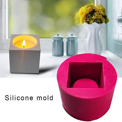 Leuchter Form 3D Silikonform Seifenform antihaft-beschichtet, geeignet für hausgemachte Kerze, Lotion Bar, Mini Seife, Fondant, Schokolade, süßigkeiten, kuchen dekorieren, polymer fimo ton