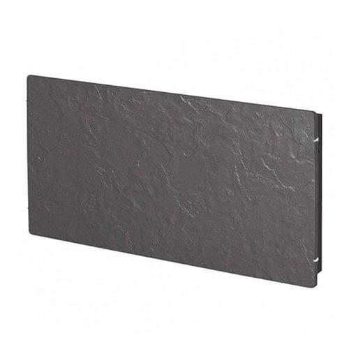 Valderoma Tactilo radiator, 2000 W, leisteen, zwart, 100 x 50 cm
