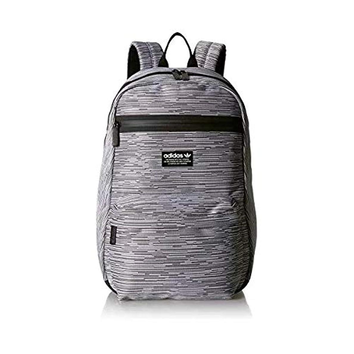 奨励します定説振るadidas アディダス オリジナルス バックパック リュック 白 黒 青 Originals National Primeknit Backpack BAG CJ6401 [並行輸入品]