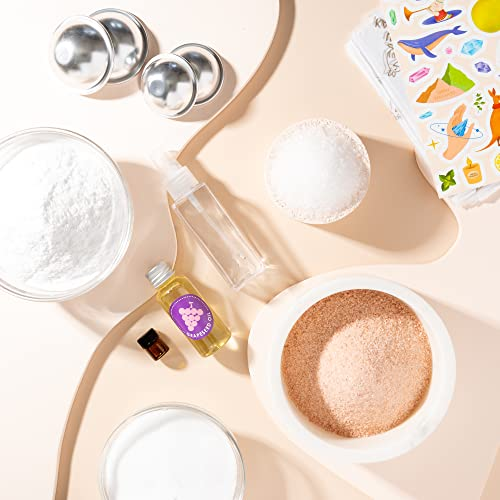 Urban Kangaroo Essential Oil Bath Bomb DIY Kit, Makes 15+ Luxurious Bath Bombs with Everything You...
