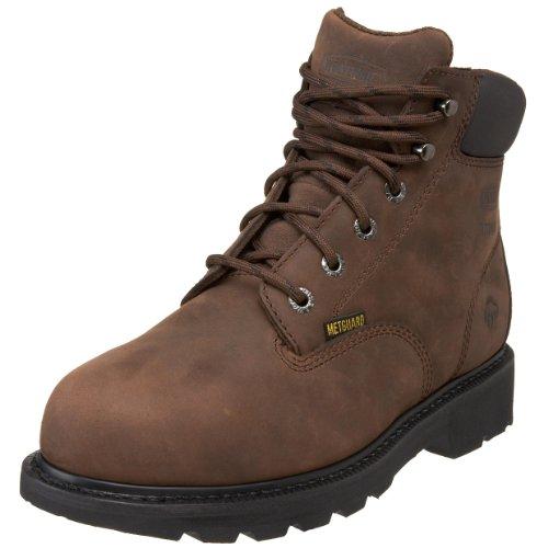 Wolverine mens McKay Waterproof Steel-Toe Work Boot, Brown, 13 M US