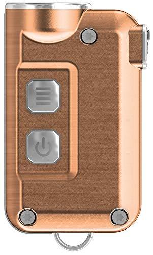 Nitecore TINI 380 LM Super Pequeño USB Llavero LED Recargable Linterna Azul, TINI, Cobre