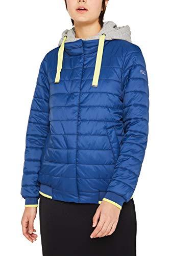 edc by ESPRIT Damen 129CC1G010 Jacke, 405/DARK Blue, XS