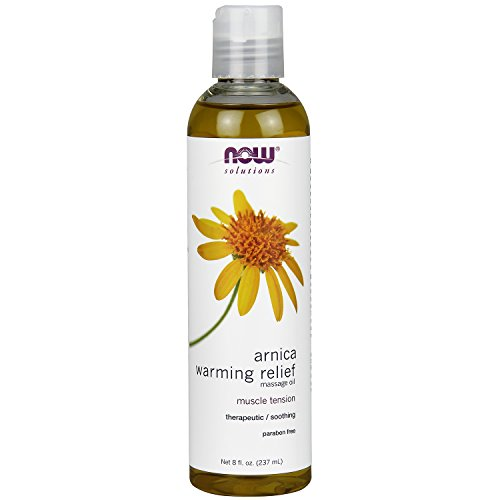 NOW Foods Arnica Warming Relief Massage Oil - 8 oz.
