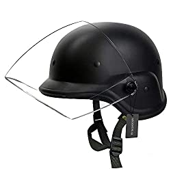 Best airsoft helmet with visor