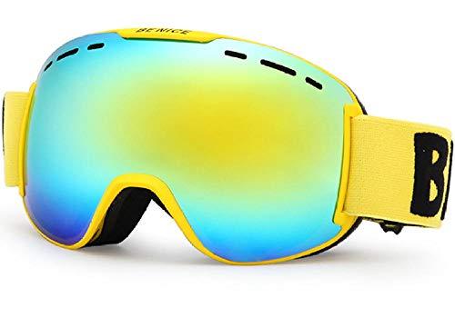 Magnetische skibril voor volwassenen, anti-condens, skibril, bergbril, anti-condens-sneeuw.