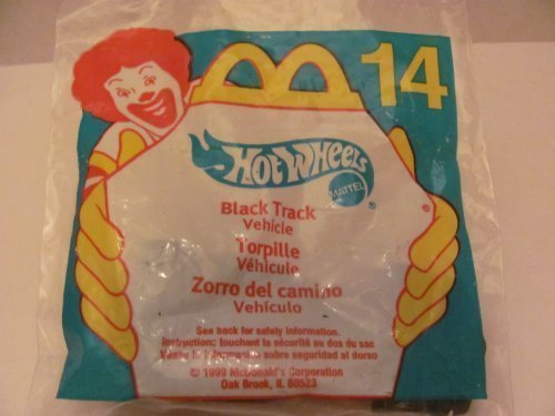 Mattel HOT WHEELS - McDONALD'S Happy Meal TOY CAR -