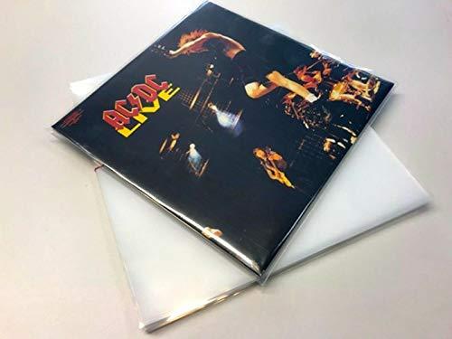 100 LP Schutzhüllen 325mm aus PE 150µ (Die Dicken)