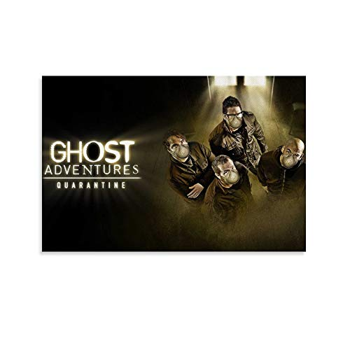 LZDD Tv Series Poster Ghost Adventures Quarantine Movie Canvas Art Poster and Wall Art Picture Print Modern Family Bedroom Decor Posters 12x18inch(30x45cm)