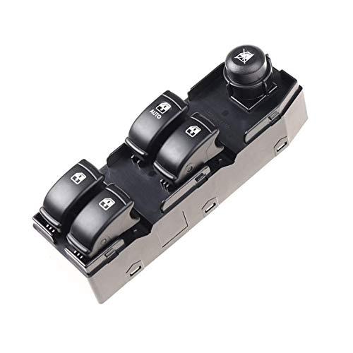 Maquer Interruptor Elevador de Ventana Delantera Izquierda Apto para Chevrolet Optra Lacetti 96552814 (Color : Default)