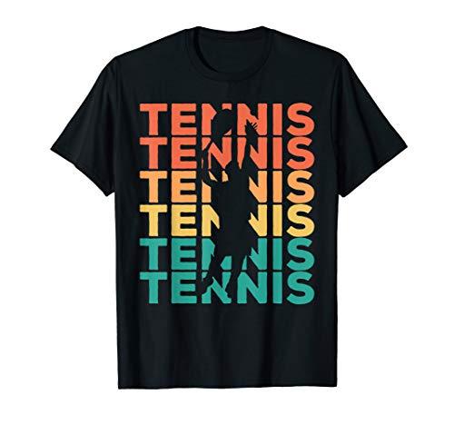 Retro Vintage Tennis Geschenk für Tennisspieler T-Shirt