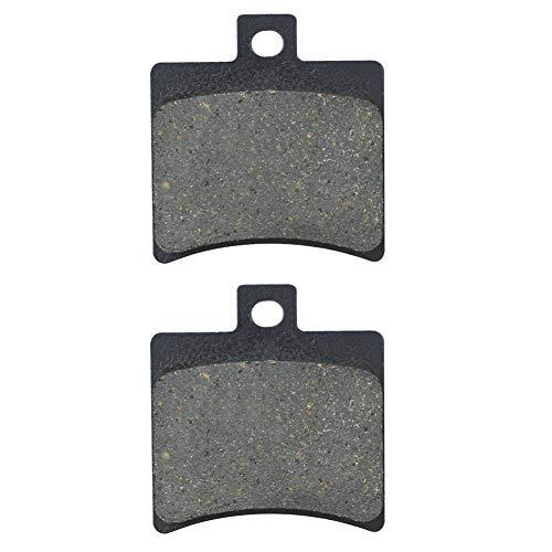 AHL 1 Paar Hinten Bremsbeläge für Aprilia SR 50 R SBK (Replica) (LC) 2010-2011 / Aprilia SR 50 R/Factory (LC/2T) (VFB00/VFD00) 2004-2015
