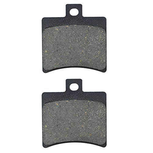 AHL 1 Paar Hinten Bremsbeläge für Aprilia SR 50 Ditech (LC) (RLD100) 2002-2003 / Aprilia SR 50 Street (LC/2T) (TE00/TEA00) 2003-2015