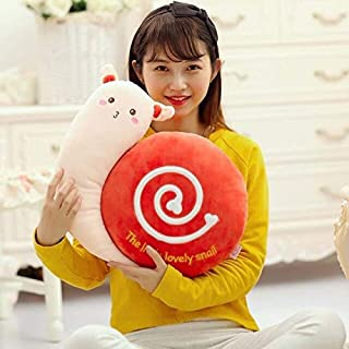 eSunny B Ynia Children Plush Stuffed Toy Snails Pillow Chair Cushion Kids Toy for Christmas Birthday Gift New Must Haves Kids Boy Gifts Childrens Favourites Toddler Superhero UNbox Dolls