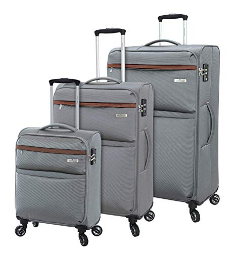 Regent Square Travel - Luggage Set with Spinner Goodyear Wheels -...