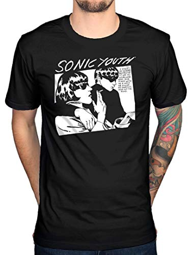 Ufficiale Sonic Youth Goo Album Cover T-Shirt