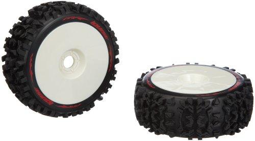 Jamara 54803 – däck + fälgar 1:8 B-pioneer soft