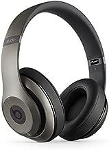 Beats by Dr. Dre Studio 2.0 Wireless Over-Ear Headphones Titanium (Renewed)
