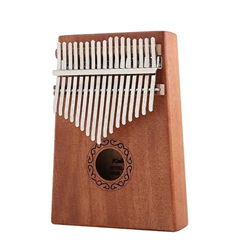 Kalimba, Daumenklavier 17 Keys Kalimba Daumenklavier Kalimba Holz klassische Farben und einfaches Robustes Design Musikinstrument mit Tuning Hammer Aufklebern