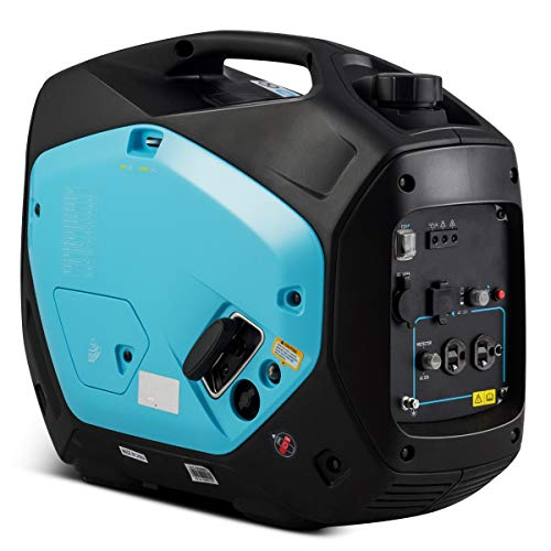 Goplus 2000W Portable Inverter Generator, Super Quiet Gas-Powered Generator with USB Outlet, EPA & CARB Compliant, 2000W Peak Power