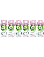 6 x Air Wick Freshmatic Max automatisk spraypåfyllning 250 ml – magnolia & körsbärsblom