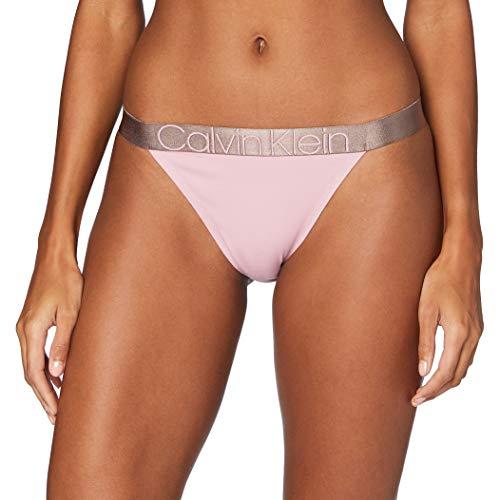 Calvin Klein Unisex High Leg Tanga Dessous, Echo Rosa, M