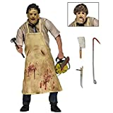 Modelo De Anime40Th Anniversary Ultimate Leatherface Película De Terror Clásica The Texas Chainsaw Massacre Figura De Acción De Cuero Juguetes 18Cm