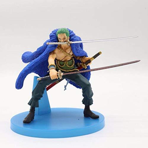"LQZYTY ""Piraten-Jäger"" Zoro Strohhut-Piraten-Mitglied Roronoa Zoro Anime One Piece Figur Action Figure Sammlung Modell Spielzeug"